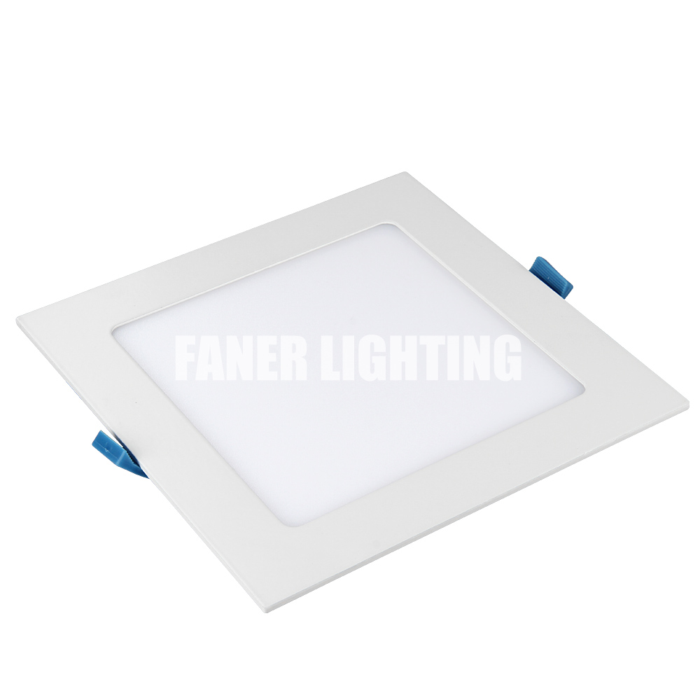 <strong>flat</strong> panel light high quality best price panel led lightparts with skd housing 6w/12w/18w24w ceiling light panel