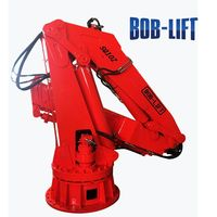 Telescopic Articulated Boom Used Small Hydraulic Cranes Barge