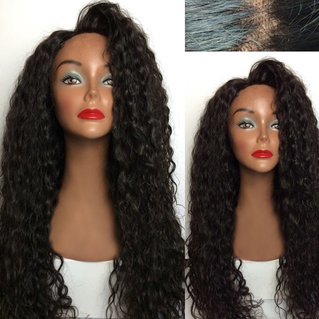 Fashionable and new style beauty 100% human hair lace front wig
