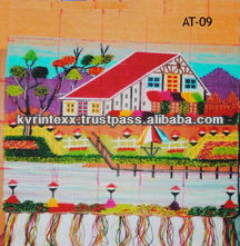 nature hanging wall jute design