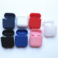 New design silicon protective carrier cover Anti Lost Pouch Bag for wireless earphone