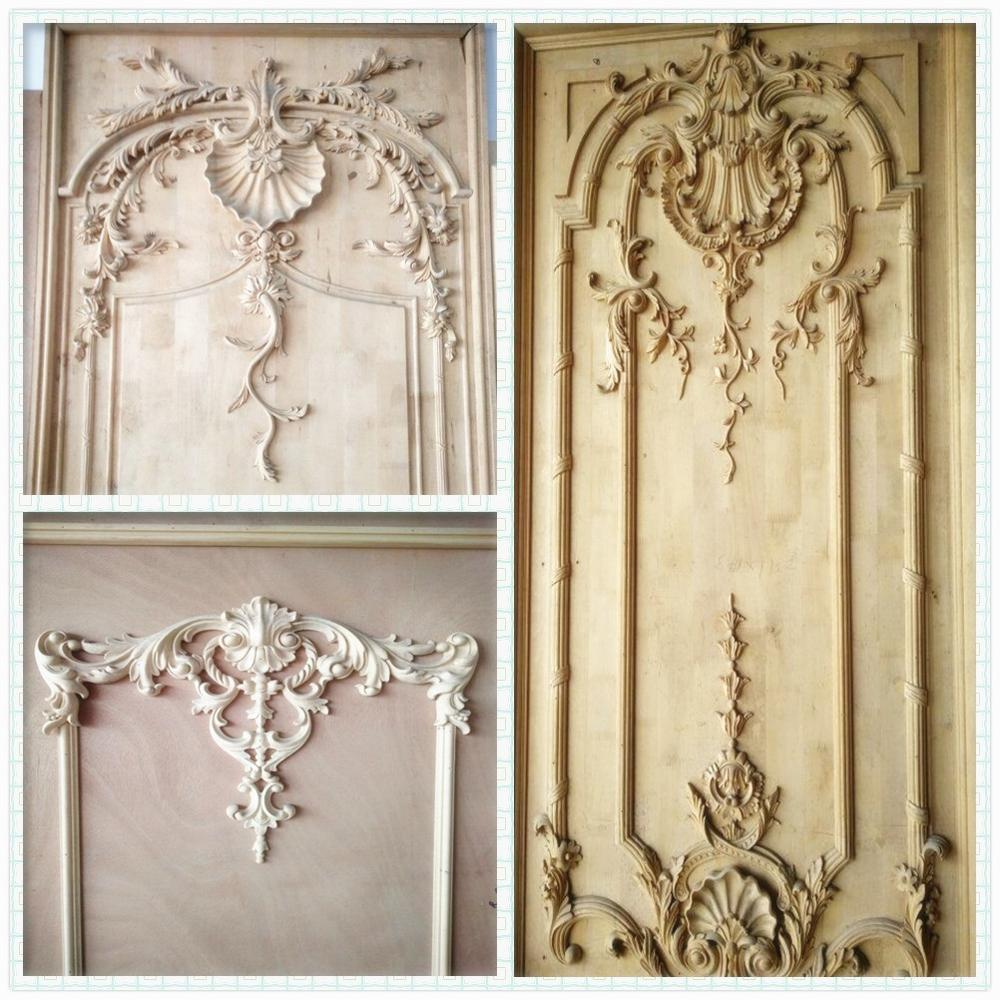Kitchen Trim Cabinet Overlays Antique Wood Moulding ...