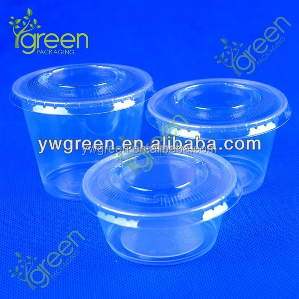 PP mini fruit jelly cup