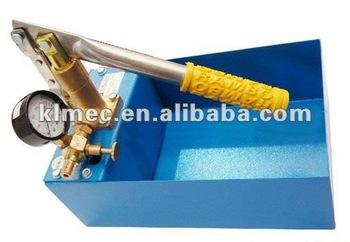 manual hydrostatic pressure test pump