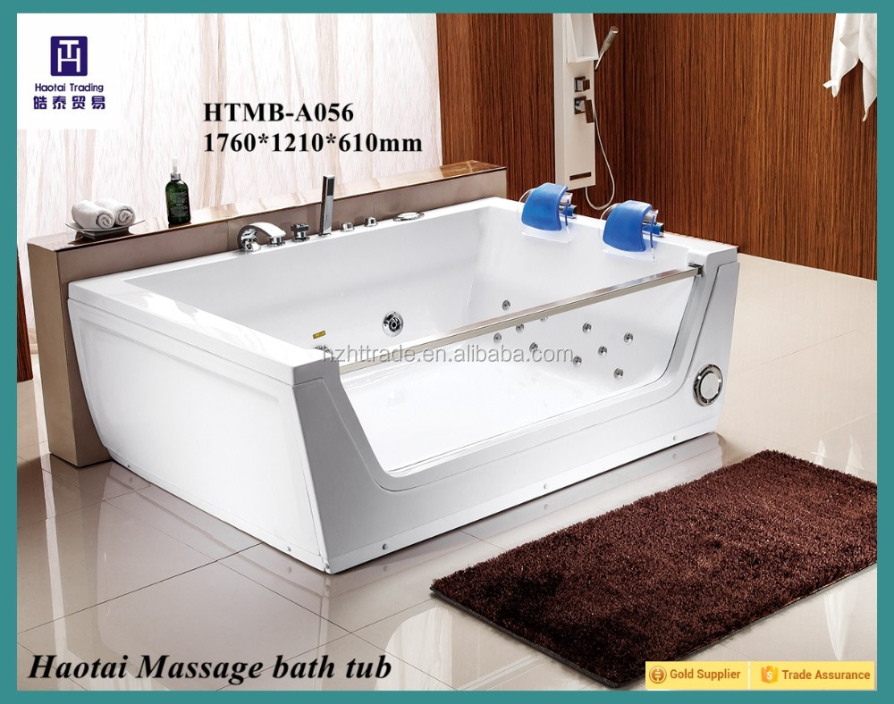 Double Bathroom Corner Rectangle Whirlpool Massage 2 Person Jetted ...