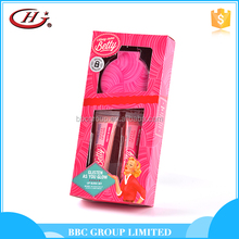 BBC Along Came Betty Gift Sets OEM 009 New arrival cute pink natural nourishing kids lip gloss