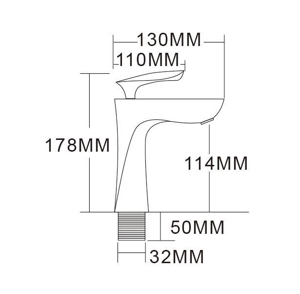 Black Brass Single Handle Deck Mounted Huayi Faucet - Buy Huayi ...