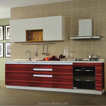 Uv Coating Mdf Finishing Plywood Customized Kitchen Cabinets Manufacturer For Usa Market
