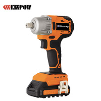 KINPOW 20V 2.0/3.0/4.0Ah Li-ion Brushless Cordless Impact Wrench