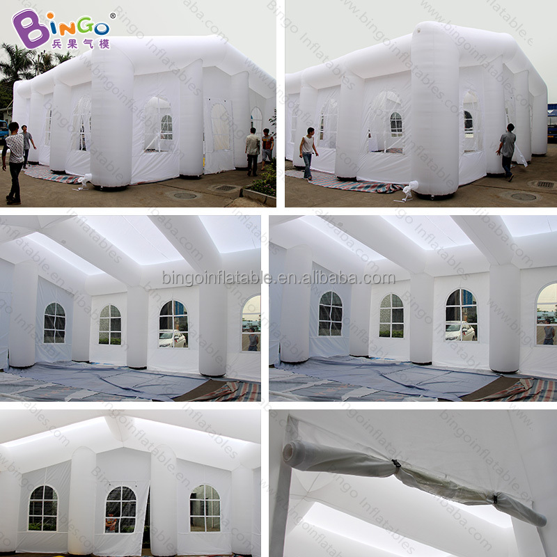 Advertising Inflatable Party/ Wedding /Event Tent, inflatable buildings with clear windows