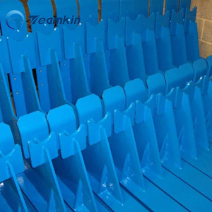 super durable outdoor type RAL blue color pure polyethylene construction electrostatic powder paint for metal racks car wheel
