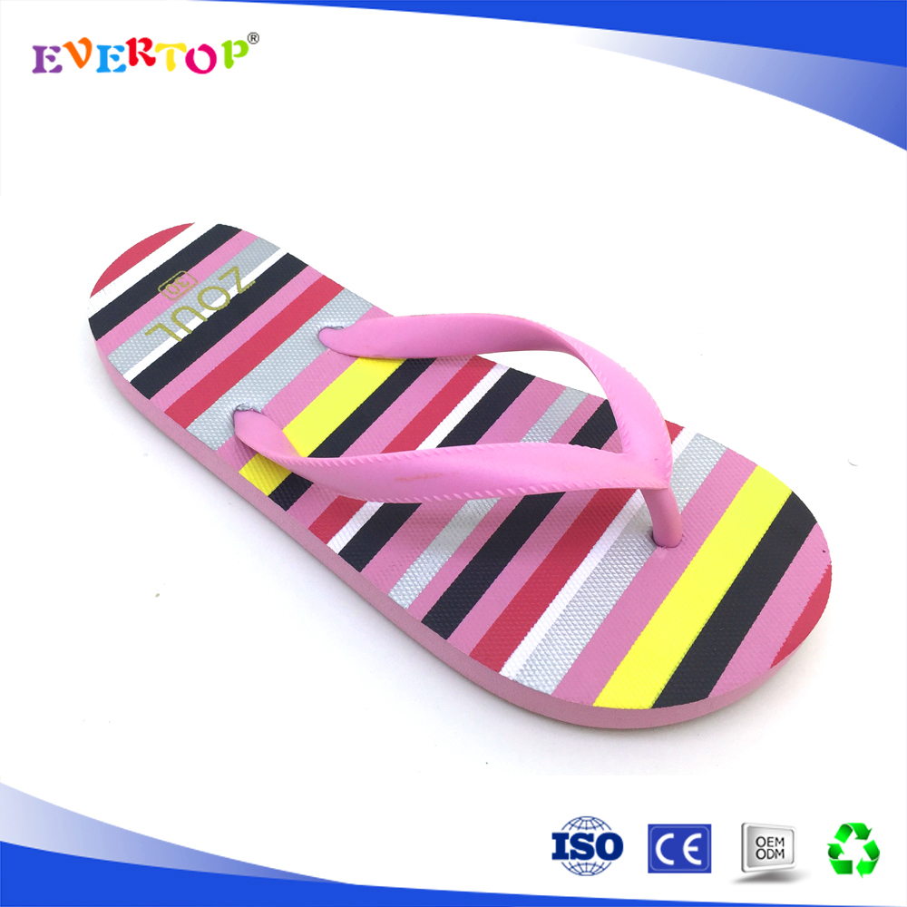 2017 Cheap children rubber footwear different design girls flip flop sandals girl pink cute shoes