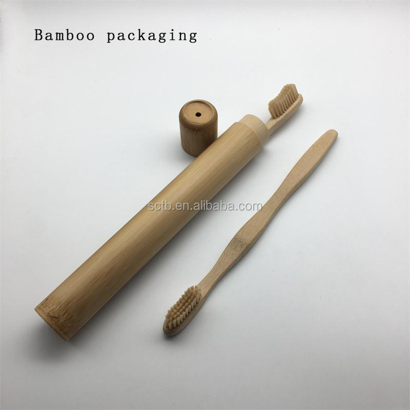 100% biodegradable wholesale natural bamboo toothbrush