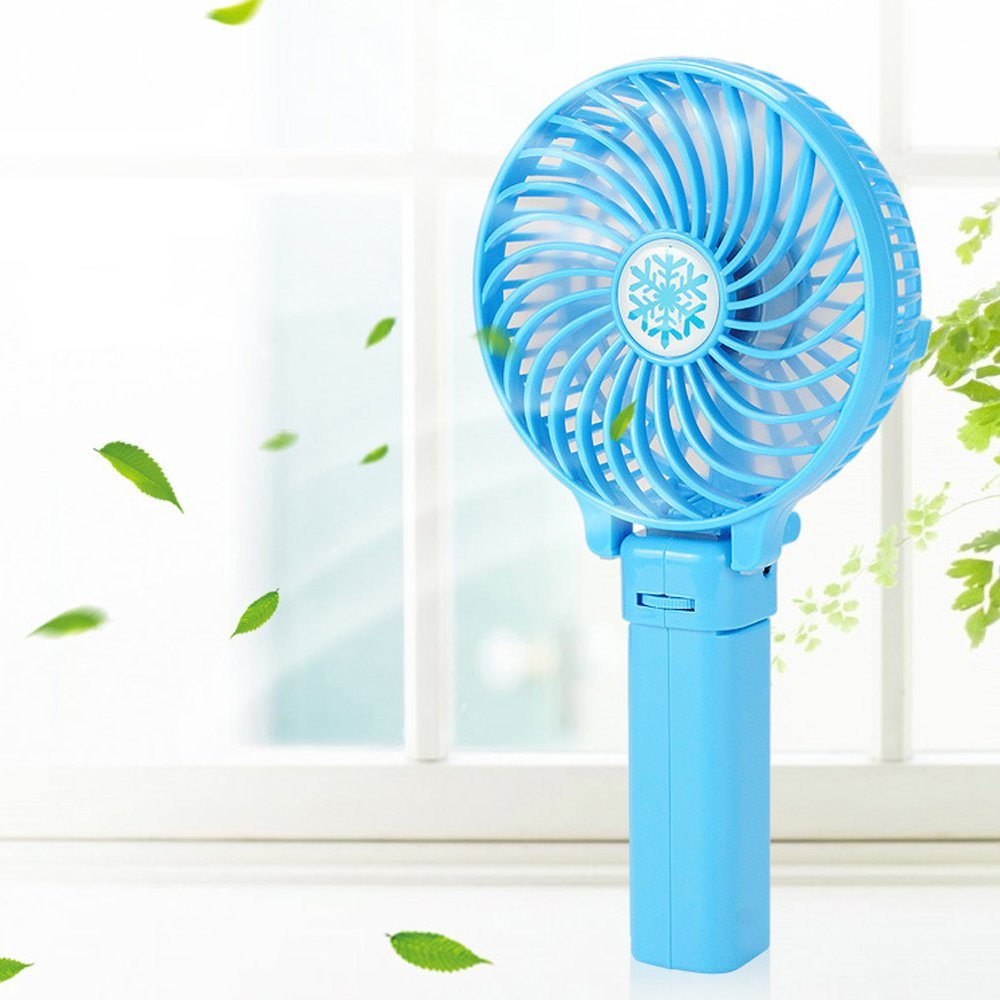 Colorful mini portable fan , Fasion rechargeable small fan , Desk Table fan for kids