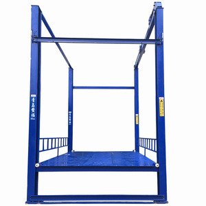 AOFU from China CE certified vertical hydraulic car parking Lift Platform QSJY3-4B