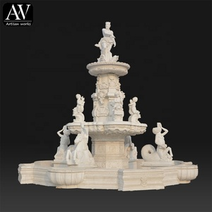 Chinese supplier stone water modern outdoor fountains