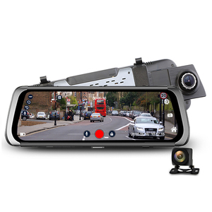 "3G/4G Car DVR 10"" Streaming Media Rearview Mirror Dash Camera Recorder FHD 1080p Dash Cam Video Recorder"