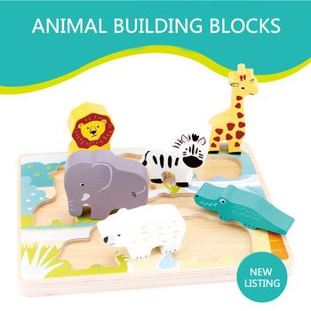 Madera Juguete Juguetes Niño Rompecabezas Animados Dibujos Niña Buy Montessori Educativo Para Niños De Y Animales Puzzles XuZiOkP