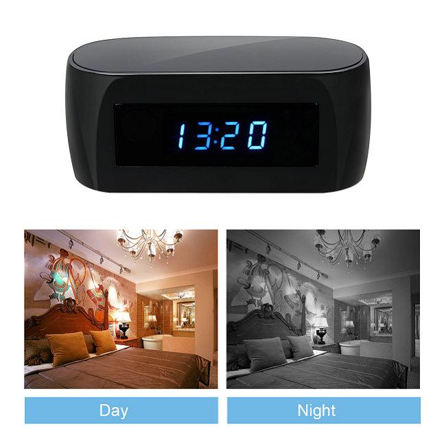 H.264 -1080P Wireless Network Clock Camera camera