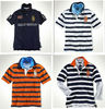 Y/D stripe polo shirts yarn dyed striped plo shirt factory