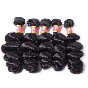 Guangzhou hair factory 9A 100% brazilian virgin hair,loose wave human hair weave bundles,virgin raw brazilian hair double drawn
