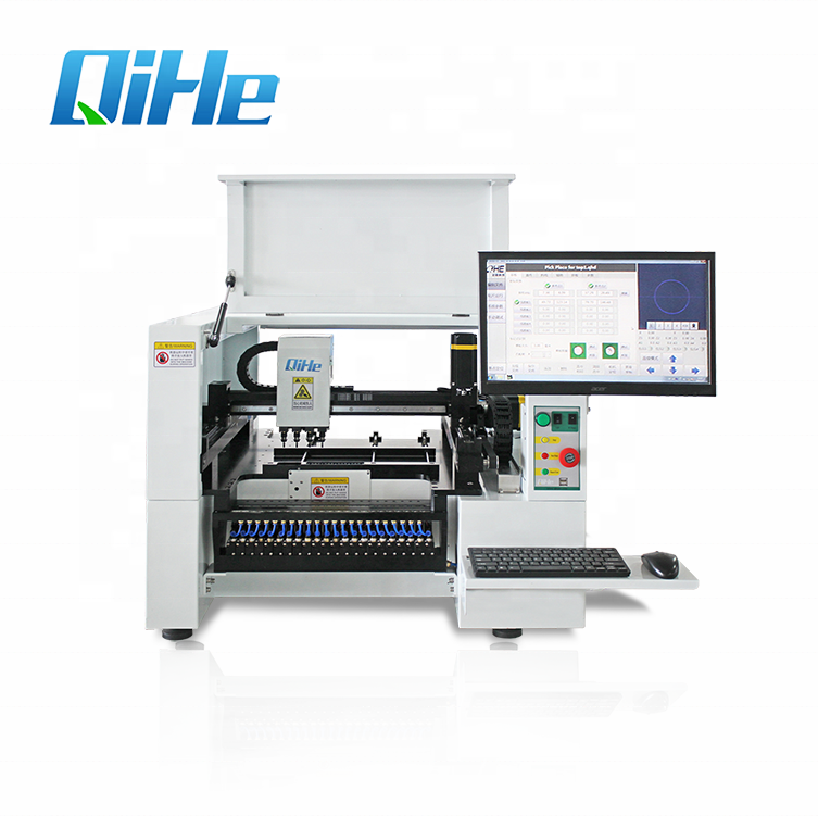 2018 Smt machine smd pick place machine voor led fabrikant
