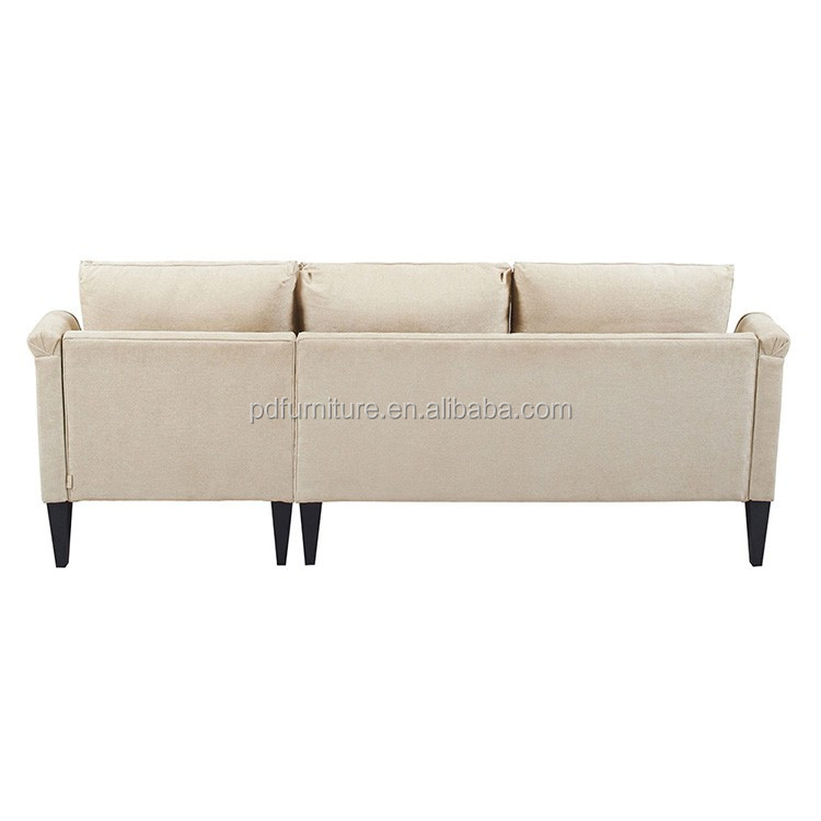 Home furniture new classic furniture american design sofa set white wedding sofa