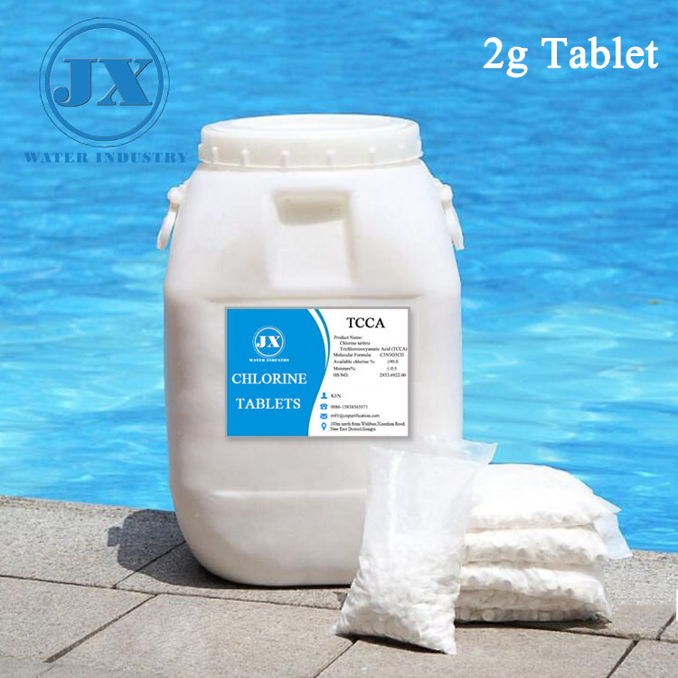 Hot Sale Be Used In Fabric China Supplier 90% chlorine Swimming Pool Drinking Water Treatment With Lowest Price 90% Tcca Tablet