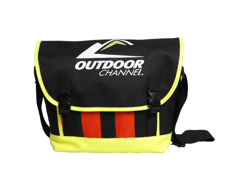 Customized 600D polyester PVC Coating Men Messenger Bag