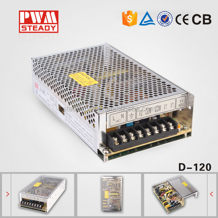 D120w discount10 % power supply fabricante salida dual power supply