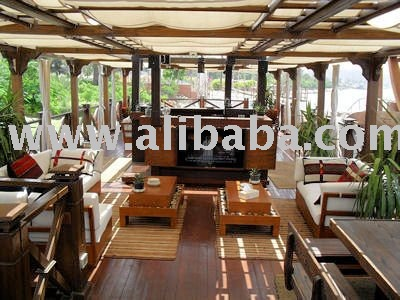 Super Deluxe 5 cabin dahabiya sailing boat with tug.