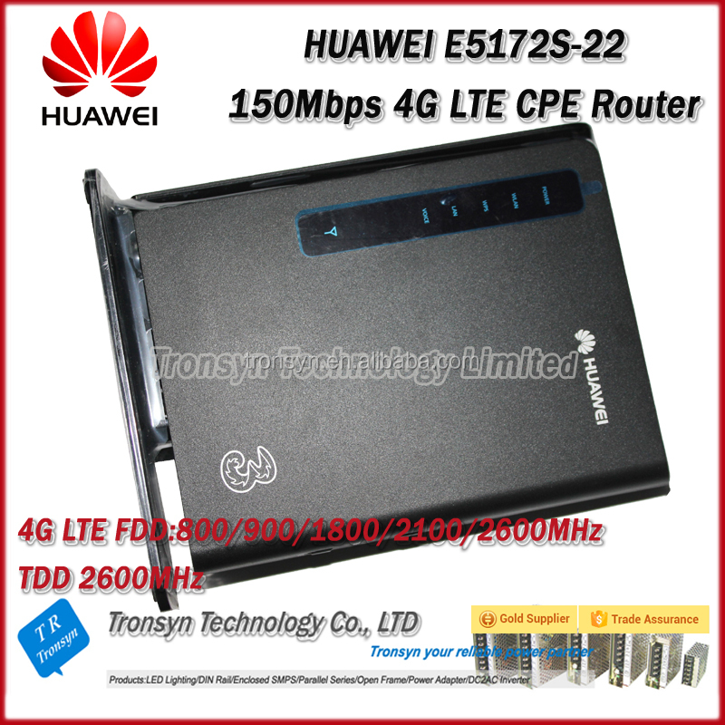 New Original Unlock 150Mbps E5172 4G LTE CPE Industrial WiFi Router With LAN And RJ11 Port