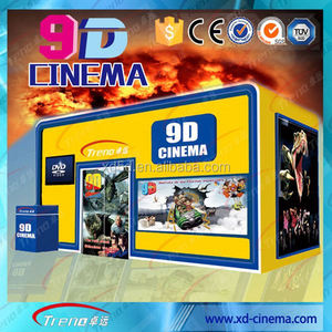 China customized Truck Mobile 9D Cinema Simulator Truck Mobile xd Cinema