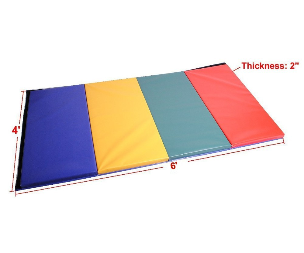 dhgate gym exercise gymnastics thick mat mats blue from fitness product panel folding com