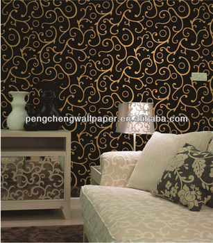 Eco-friendly Decorative Metallic Wallpaper Sample Books - Buy ...