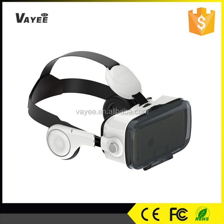 Cheap BoBo VR Z4, Factory wholesale price with remote controller 3D glasses, 3D virtual reality 3d glasses