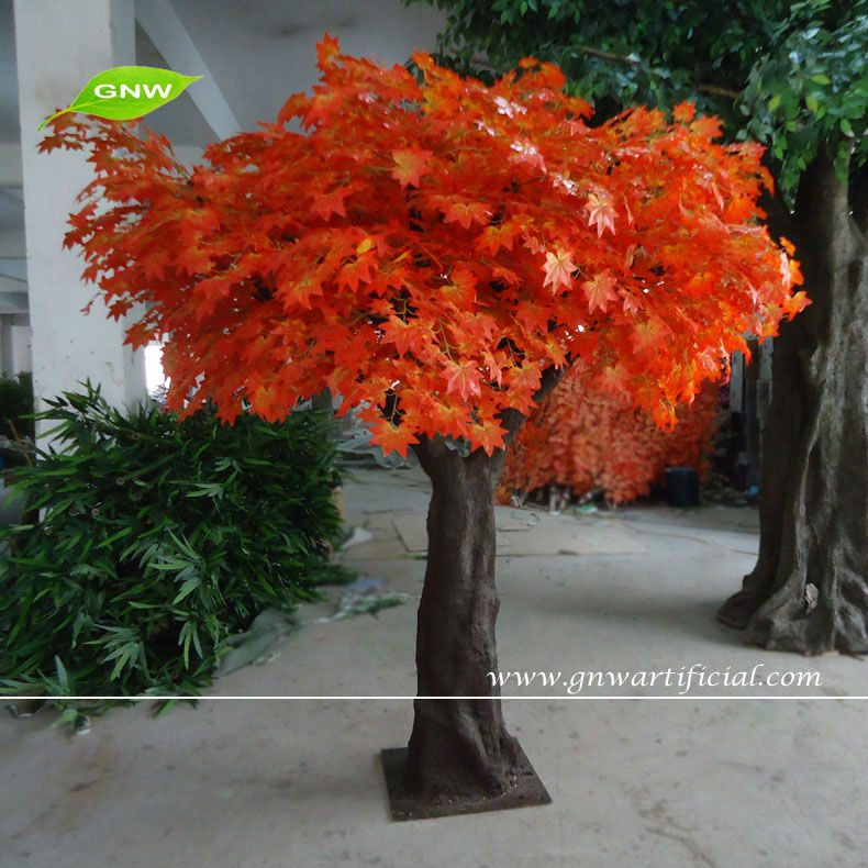 btr1086 2 gnw outdoor artificial maple tree plants for sale 7ft high for hotel garden decoration buy artificial maple treemapleoutdoor tree product on - Trees For Home Garden