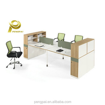 indonesia office furniture manufacturers 4 seaters long tables with