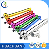 fancy cut sausage dog shaped stylus ball pen plastci ballpoint for kids