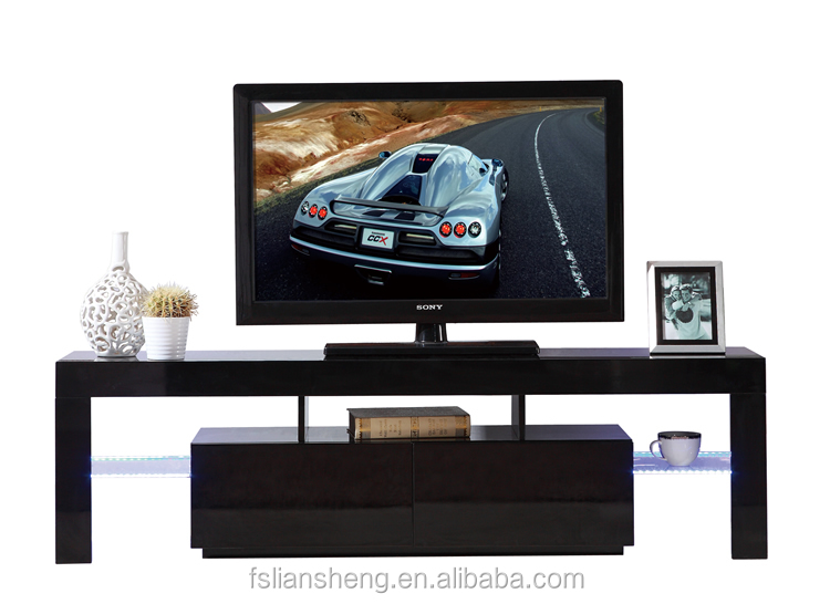 Lcd Led Plywood Living Room New Model Tv Cabinet