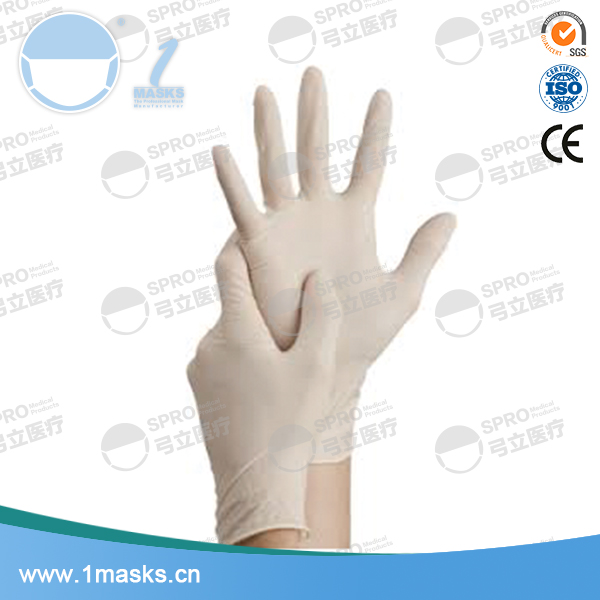Cheap custom hospitals disposable examination medical latex glove