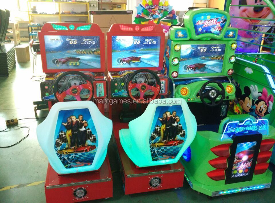 New Model Video Game Console Simulator Driving Car Racing Game ...