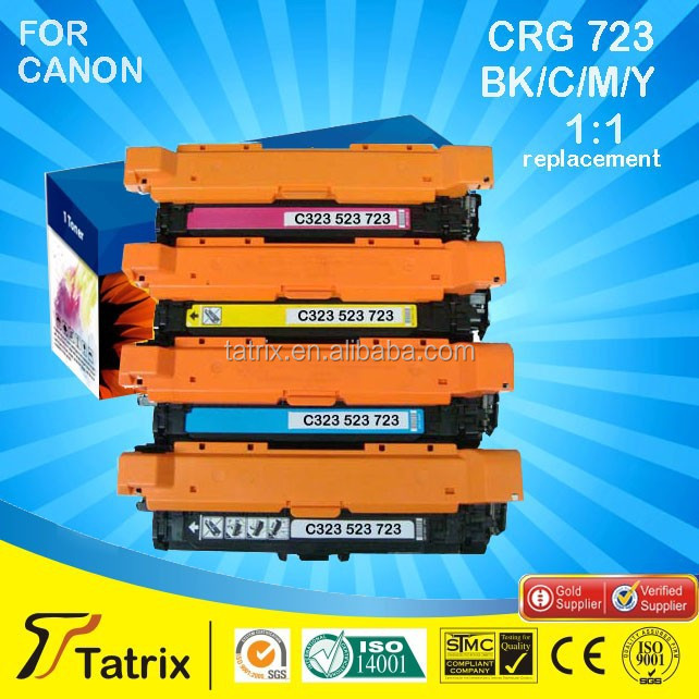 Compatible Color Toner Cartridge for canon CRG323/523/723 Laser Printer