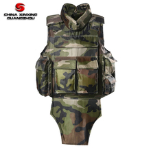 Ak47 ป้องกัน Woodland Camouflage Bulletproof เสื้อ Full Body Army Bullet proof Vest
