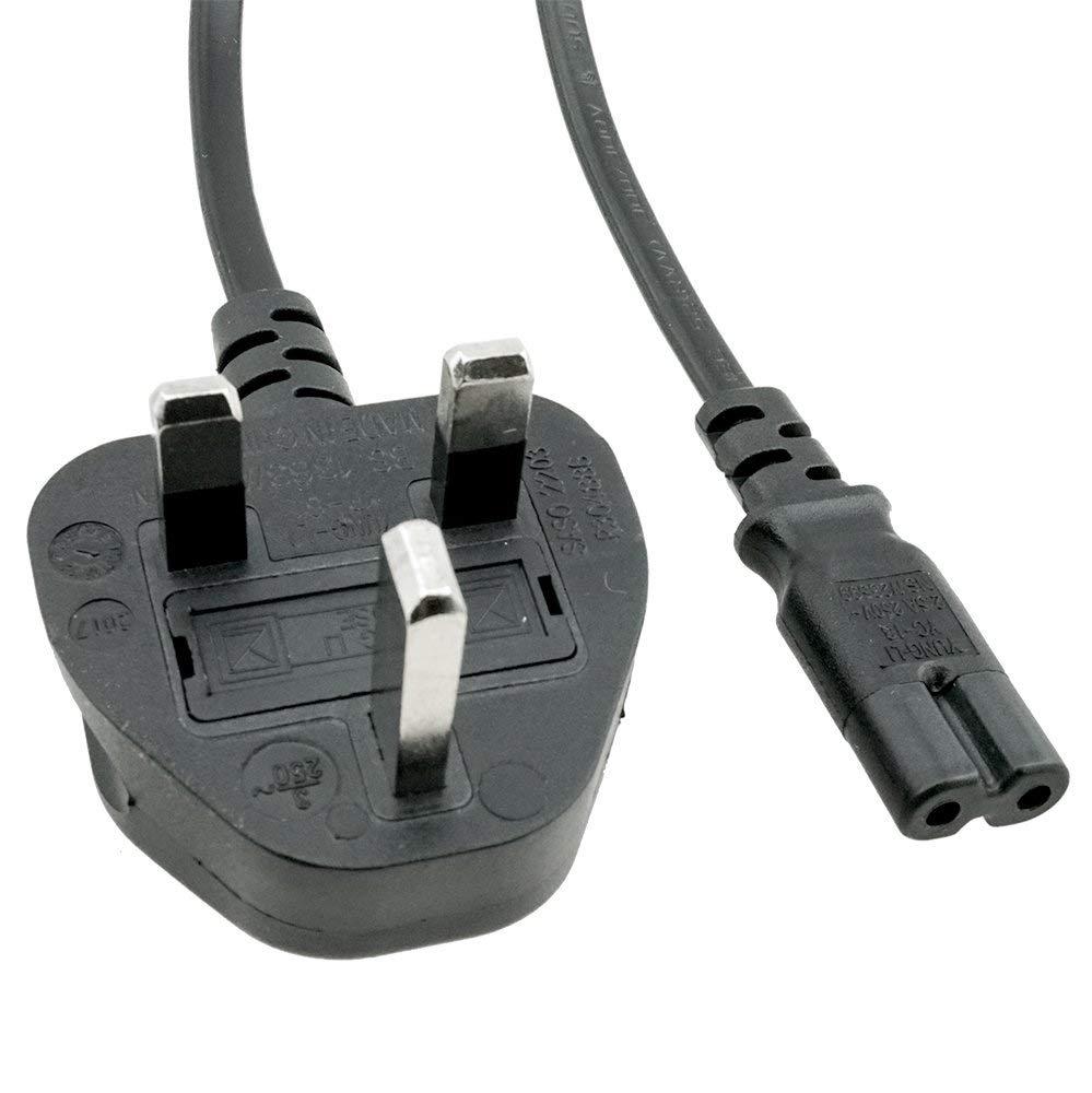 a3274c7089 ACP1067 UK BS1363 Standard Fused Plug to IEC C7 6 Foot (1.83 Meters) Power