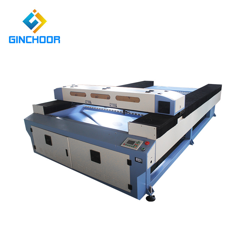 Jinan 100w matrix co2 laser cutting machine