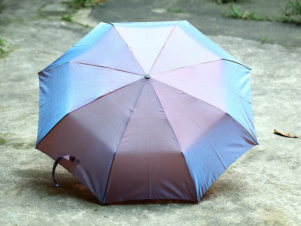 anti rust folding umbrella 100 sunscreen uv protecting upf. Black Bedroom Furniture Sets. Home Design Ideas
