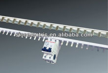 Tinned copper bus bar/mcb copper busbar/comb busbar for distribution board panel