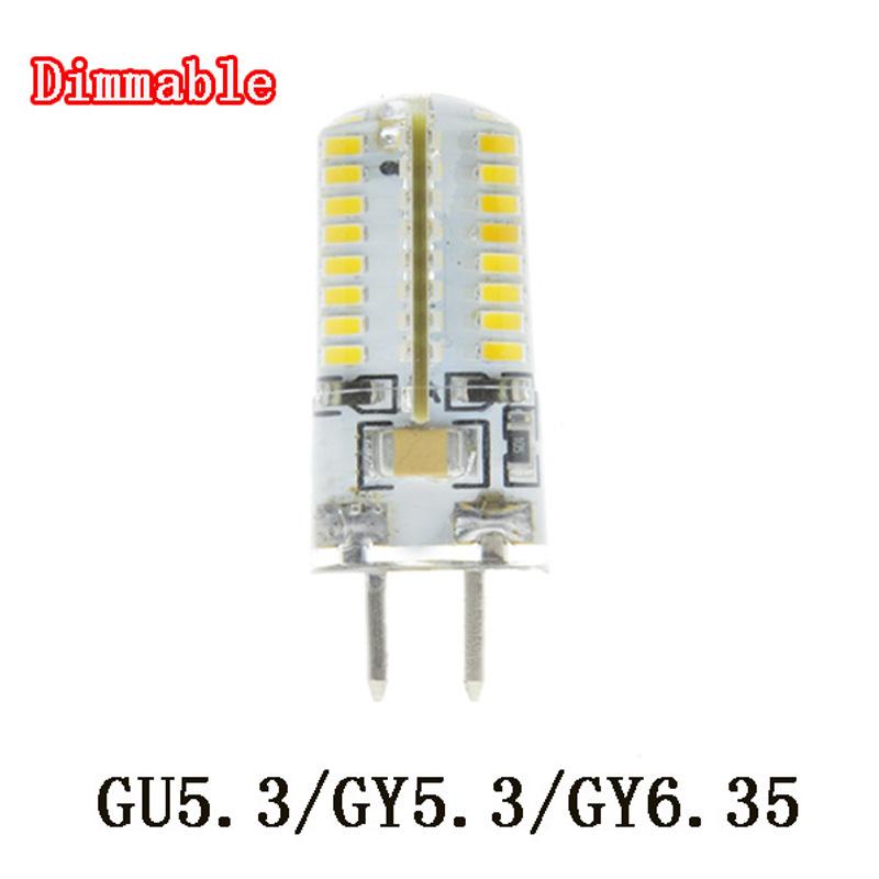 Moderne 72 Smd 2835 12v Ac/dc White Warm White Gy6.35 Led Indoor Bombillas PO93