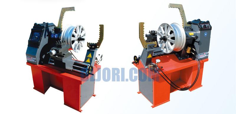 Balancing testing hydraulic pressure aluminum rim Hydraulic motor testing